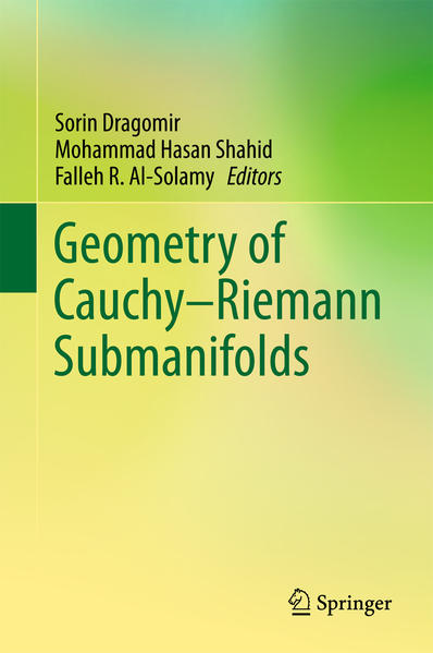Geometry of Cauchy-Riemann Submanifolds - Coverbild