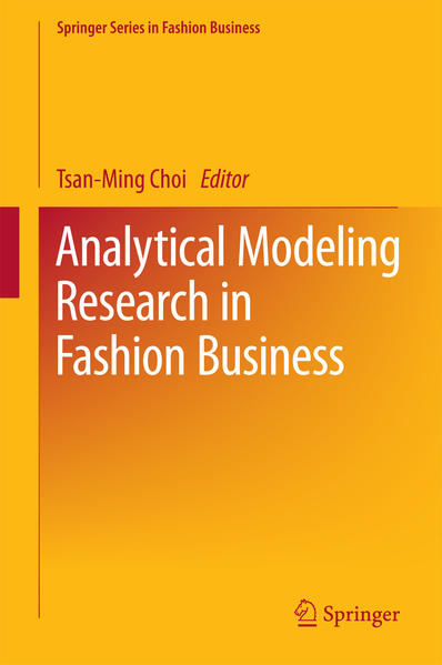 Analytical Modeling Research in Fashion Business - Coverbild