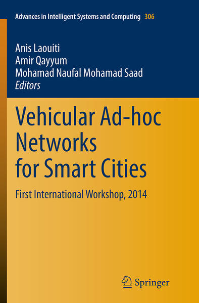 Vehicular Ad-hoc Networks for Smart Cities - Coverbild