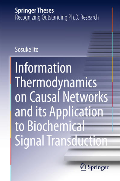 Information Thermodynamics on Causal Networks and its Application to Biochemical Signal Transduction - Coverbild