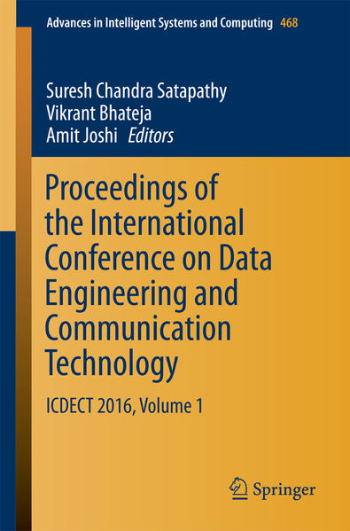 Proceedings of the International Conference on Data Engineering and Communication Technology - Coverbild