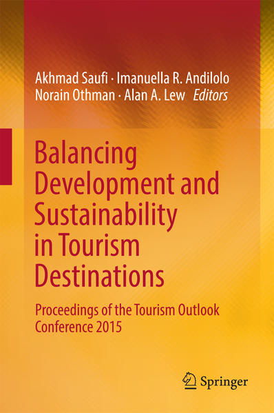 Balancing Development and Sustainability in Tourism Destinations - Coverbild