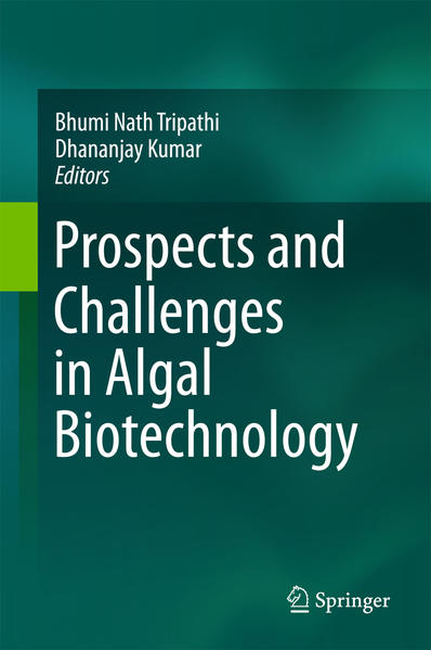 Prospects and Challenges in Algal Biotechnology - Coverbild