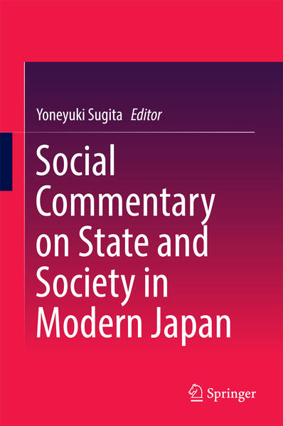 Social Commentary on State and Society in Modern Japan - Coverbild