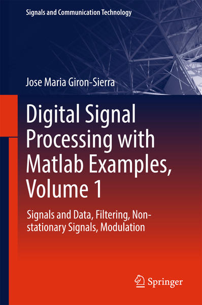 Digital Signal Processing with Matlab Examples, Volume 1 - Coverbild