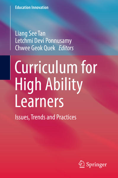 Curriculum for High Ability Learners - Coverbild