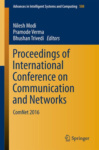 Proceedings of International Conference on Communication and Networks - Coverbild