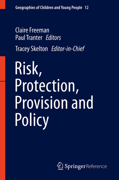 Risk, Protection, Provision and Policy - Coverbild