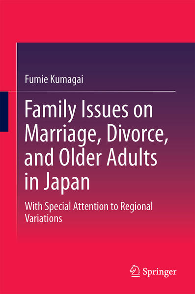 Family Issues on Marriage, Divorce, and Older Adults in Japan - Coverbild