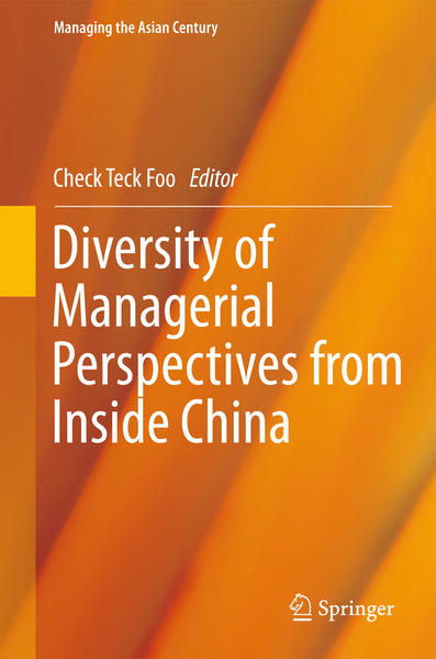 Diversity of Managerial Perspectives from Inside China - Coverbild