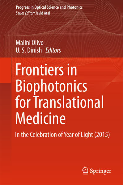 Frontiers in Biophotonics for Translational Medicine - Coverbild