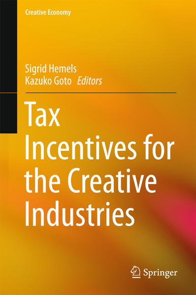 Tax Incentives for the Creative Industries - Coverbild