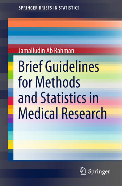Brief Guidelines for Methods and Statistics in Medical Research - Coverbild